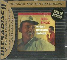 Crosby, Bing Sings Whilst Bregman Swings MFSL GOLD CD Neu OVP Sealed Folie besch