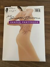 Hanes Smooth Illusions Ultimate Contouring Leg Shaper Pantyhose 644 Sz AB Ivory