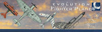 2005 Tuvalu Evolution of Fighter Plane 5 x 1oz $1 Silver Proof coloured coins