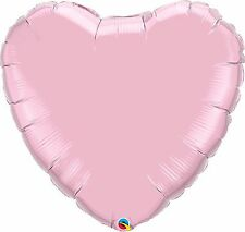 """18"""" Round Plain Pearl Pink Foil Helium Balloon - Party Accessory"""