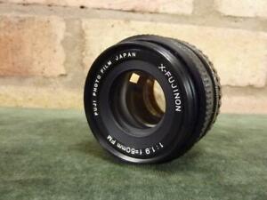 nice Fujinon X  1:1.9 50mm FM Lens Fujica X mount  VGC