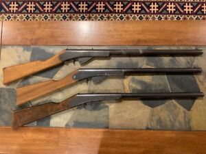 Vintage Daisy BB Rifles x 3 Models 155 / 102-36 / 27 - For PARTS OR REPAIR