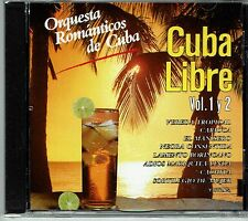 Orquesta Romanticos de Cuba Cuba Libe Vol 1 y 2   BRAND  NEW SEALED CD