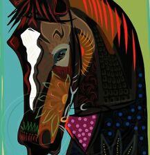Inspired By Zenyatta Racing Art  Print Signed Numbered Equine Art NEW! SFASTUDIO