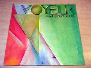 EX/EX- !! David Sanborn/Voyeur/1981 Warner Bros LP