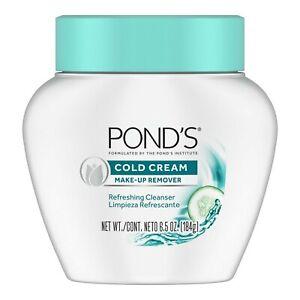Ponds Cold Cream Make-Up Remover 6.5 oz,184g - NEW