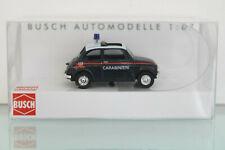 BUSCH 48728 - H0 1:87 - Fiat 500, Carabinieri - NEU in OVP