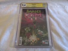 CGC SS 9.4 2018 SDCC Oni Press Nickelodeon Invader Zim #1 Signed by Cast