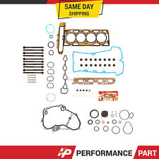 Full Gasket Set Head Bolts for 10-13 GMC Chevrolet Equinox Buick Verano 2.4
