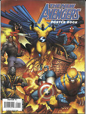 2008 The New Avengers Poster Book Marvel Comic First Printing