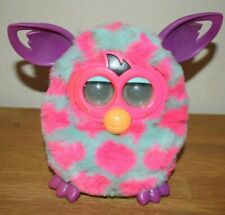 Furby Boom 2012 Blue with Pink Spots  tested Hasbro electronic bird talking