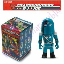 Kidrobot Transformers vs Gi Joe Vinyl Mini Series Figure Cobra Commander 2/24