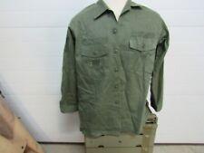 New ListingUs Army Usaf Vietnam era sateen utility shirt 100% original 17 1/2 x 34 (Sh1)