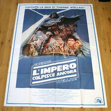 L'IMPERO COLPISCE ANCORA manifesto poster Star Wars The Empire Strikes Again