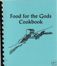 *REDDING CA VINTAGE *FOOD FOR THE GODS COOK BOOK *RELIGIOUS SCIENCE CHURCH *RARE