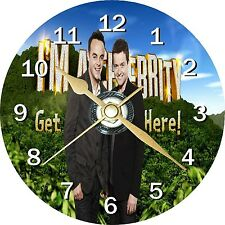 Im a Celebrity Get Me out of Here ANT and Dec CD Clock Can Be Personalised