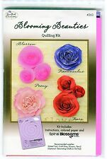 Quilled Creations BLOOMING BEAUTIES Quilling KIT-Paper-Instructions-Template NIP
