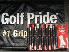 13 New Golf Pride CP2 Pro MIDSIZE Golf Grips + Free Grip Kit + Free Shippiing