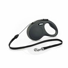 Flexi New Classic Retractable Dog Leash, Cord, 26 Ft For Dogs up to 26 lbs