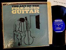 Jerry Silverman Folkways 8355 The Art Of The Folk-Blues Guitar