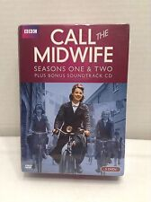 Call the Midwife: Season One & Two (DVD, 2013, 6-Disc Set, 5 DVDs/CD) *Brand New