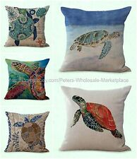 set of 5 cushion covers beach anchor boat nautical decorative pillow covers