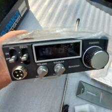 NOS - Sharp CB-800 23 Channel Mobile CB Radio Transceiver.Unused, complete.Japan