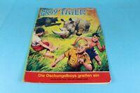 ROY TIGER Comic - Band 21 / Die Dschungelboys greifen ein - wohl um 1969 /S83