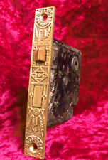 Antique Refurbished M & W #440 Ornate Victorian Mortise Door Lock