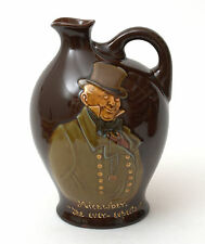 Vintage Royal Doulton Kingsware Dewar's Whisky Jug/Flask 'Mr. Micawber'