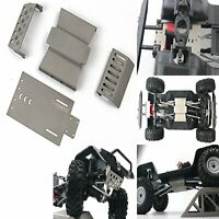 Stainless Steel Chassis Armor Protection Skid Plate Guard for Redcat GEN8 RC Car