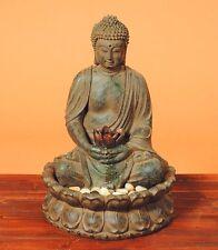 Fuente De Buda Estupenda Altura 52 cm Con Bomba Incluida / Luz Escultura Estatua
