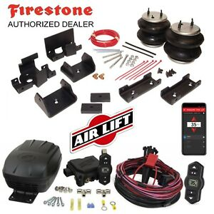 Firestone Ride Rite Air Bags AirLift Wireless Compressor for Dodge Ram 2500 3500