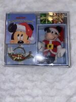 1997 Disney Mickey Mouse Christmas Surprise Book & Ornament Box Gift Set NEW