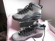 RARE 1994 Nike air Jordan 10 X shadow 130209-001 sz7us OG DS LEBRON ATMOS