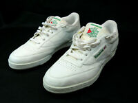 Reebok Club Classic Vintage Men's Size 13 Tennis Shoes White Used