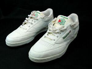 Reebok Club Classic Vintage Men's Size 13 Tennis Shoes White Used