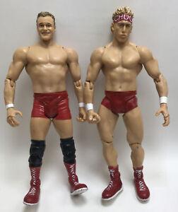"""WWE 2001 Billy & Chuck 7"""" Jakks Wrestling Figure Lot"""