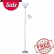 72 Combo Floor Lamp with Adjustable Reading Lamp Home...
