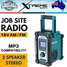 Makita 18V AM/FM Job Site Radio Skin Portable 2 Speaker Stereo MP3 Compatibility