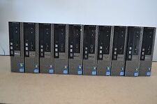 Lot 10 Dell Optiplex 7010 USFF Intel Core i3-3220 3.30GHz-4GB Ram-320GB HDD