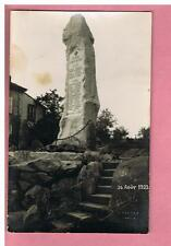 CARTE PHOTO  - FAYS -  LAVAL - 88 -  MONUMENT AUX MORTS  -   26  AOUT 1923