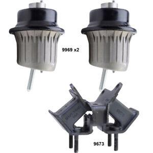 Engine & Manual Transmission Mounts set 3Pcs for Lexus IS300 IS250 IS350  RWD MT