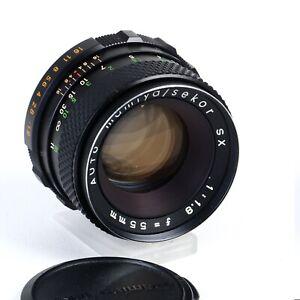 ^ Mamiya/Sekor SX 55mm f1.8 Prime Lens M42 Screw Mount [EX++]
