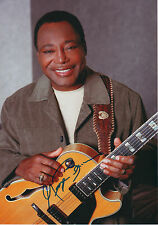 George Benson signed 8x12 inch photo autograph