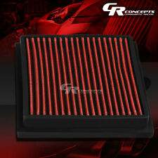 RED WASHABLE HIGH FLOW AIR FILTER FOR 10-15 TOYOTA PRIUS 11-17 LEXUS CT200 I4