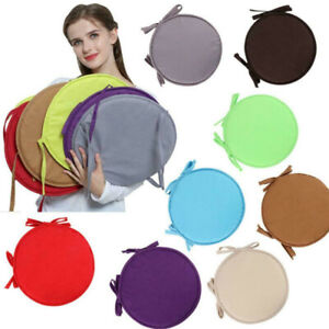 Round Garden Chair Pads Seat Cushion For Outdoor Bistro Stool Patio Home Dining