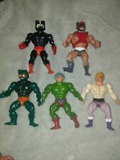 Mattel Masters of the Universe He-Man Action Figures Lot of 5 Soft heads 1981-82
