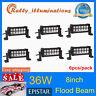 6X 8'' 36W LED Work Light Bar Offroad SUV Car Boat FLOOD Driving Lamp 4WD 12V24V