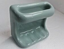 Seafoam Green Ceramic Soap Dish Tray Cloth Holder Bar Tub Kohler K102 Color 455